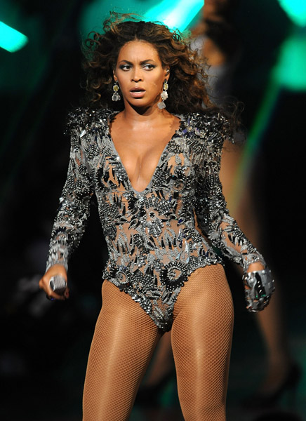 Beyonce shows pussy at conert remarkable, rather